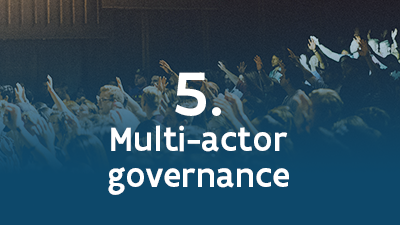 5. Multi-actor governance